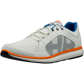 Helly Hansen Ahiga V3 Hydropower Shoes Herrer, off white/racer blue/blazer orange